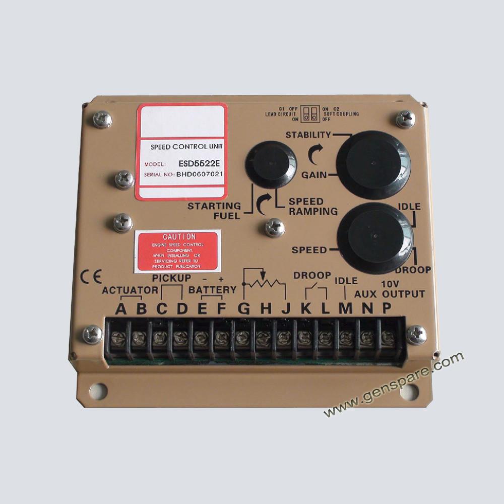 Блок управления скоростью генератора ESD5520E