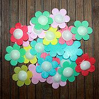Вафельные декоративные украшения ромашки 20шт
