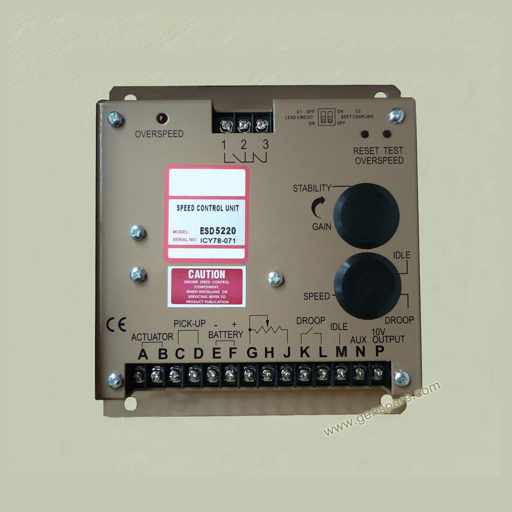 Блок управления частотой вращения двигателя ESD5200