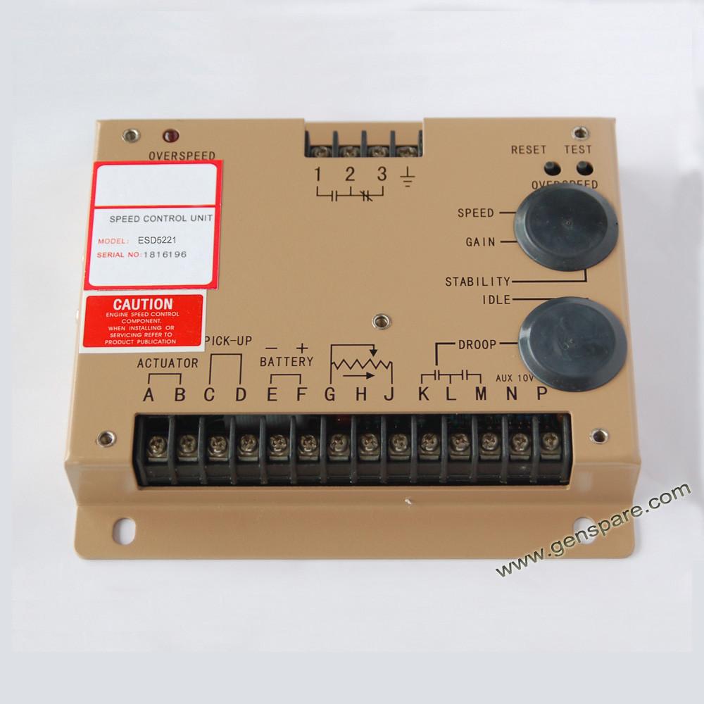 Дизель-генераторная установка Регулятор скорости ESD5221