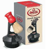 Набор OMEGA Италия (мыло для бритья и помазок на подставке)