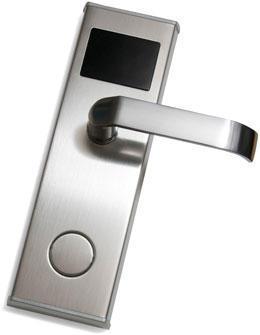 Электронный/умный замок на дверь с питанием от батареек Модель: Z-7 EHT, фото 2