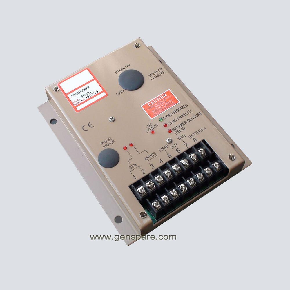 Дизель-генератор-генератор синхронизатора SYC6714