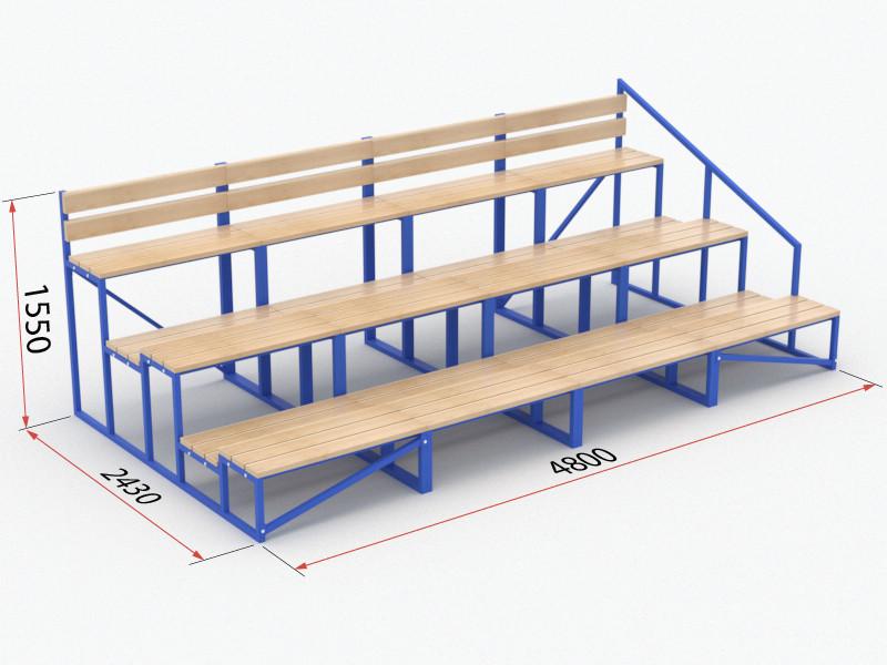 Трибуна модульная (без лестницы)