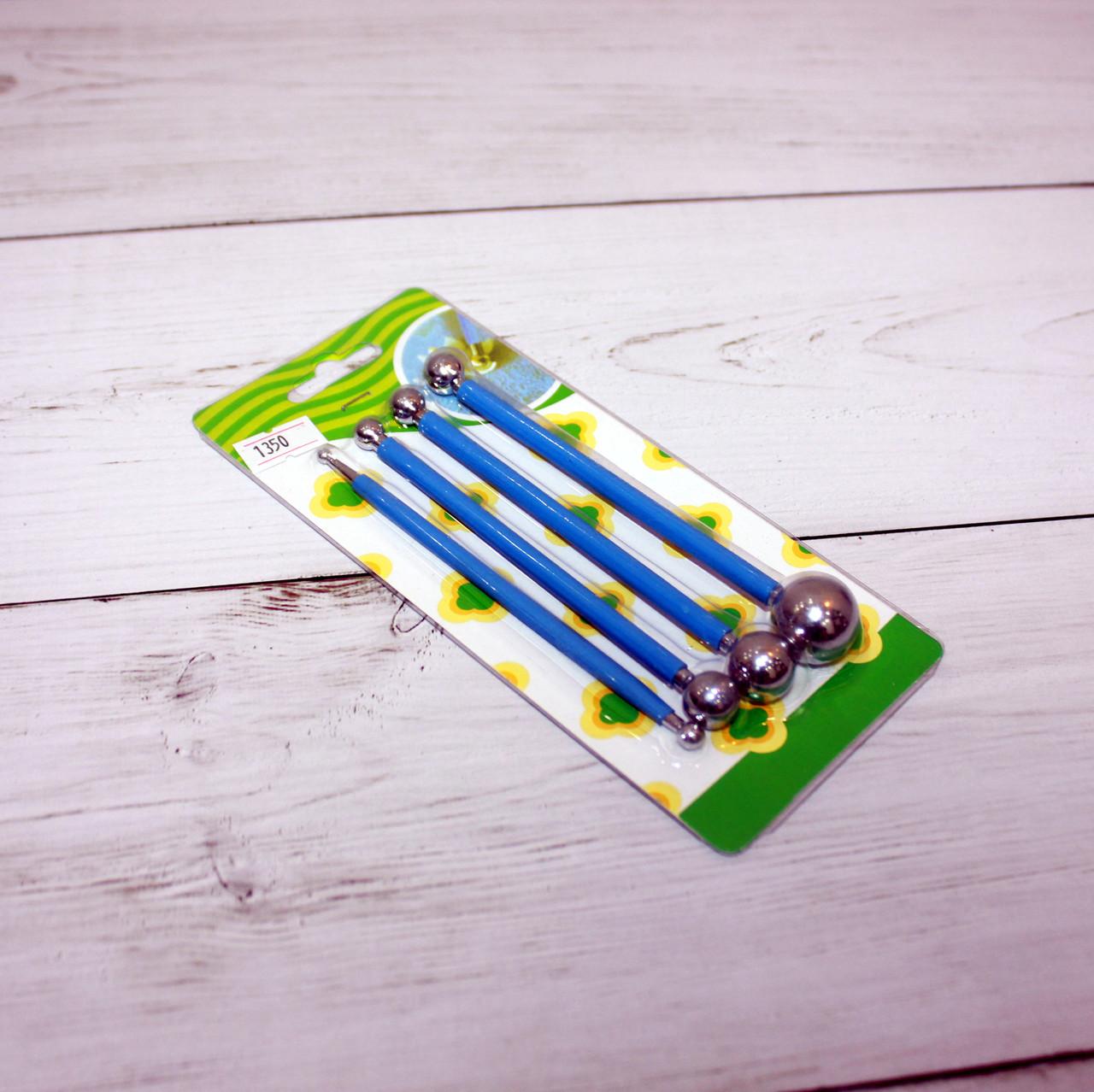 Набор инструментов для мастики с металлическими наконечниками