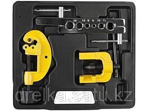 """Развальцовка STAYER """"MASTER"""" для труб из цветных металлов, с труборезом, в боксе, 3/16"""" - 5/8"""", фото 2"""