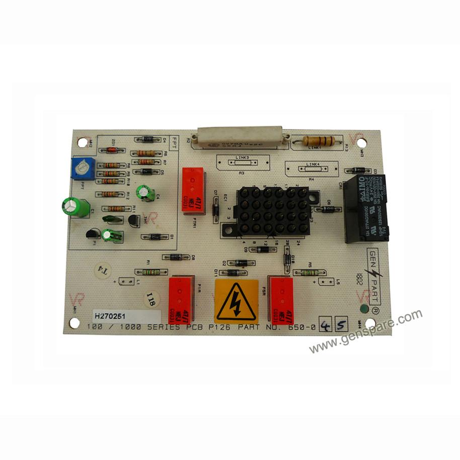 FG Wilson PCB 650-045 для генератора CAT Olympian