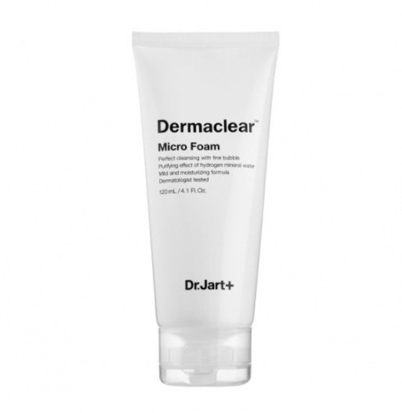 Мягкая пенка для умывания/Dr.Jart+ Dermaclear Micro Foam Micro-Mousse Cleansing Foam