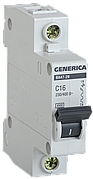 Автоматический выключатель ВА47-29 1Р 40А 4,5кА х-ка С GENERICA