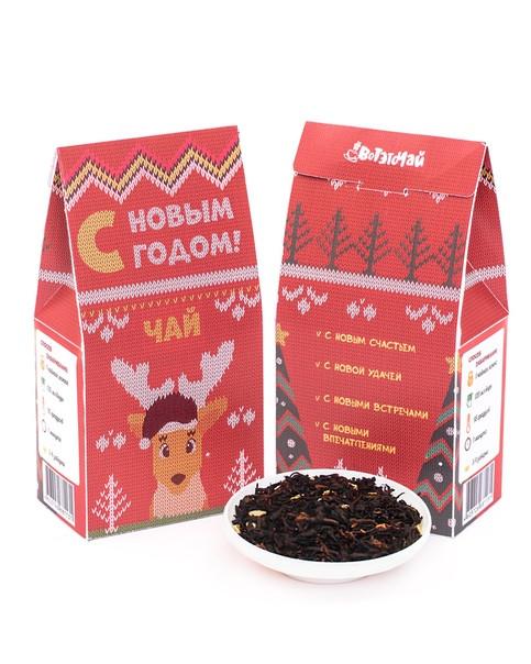 """Чай """"С новым годом"""". Красный"""