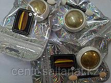 Втирка для дизайна ногтей золото зеркальная