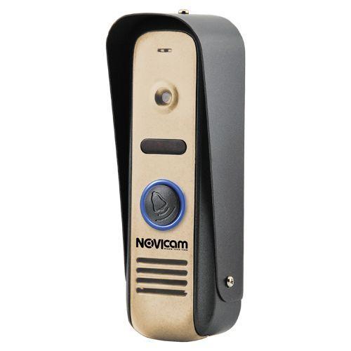 MASK GOLD - Панель вызова видеодомофона, 800ТВЛ (цвет - золотистый).