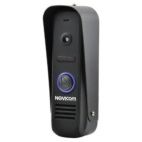 MASK BLACK - Панель вызова видеодомофона, 800ТВЛ (цвет - чёрный).