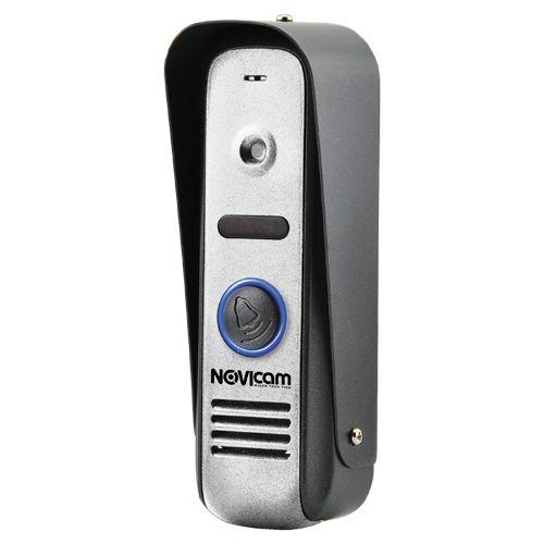 MASK SILVER - Панель вызова видеодомофона, 800ТВЛ (цвет - серебристый).
