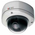 TCM-7411 - 1,3MP Уличная купольная варифокальная антивандальная IP камера с POE.