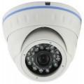 XND-106 - 1MP купольная антивандальная IP-камера  с ИК-подсветкой.