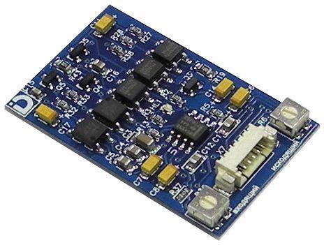 МСК СЛИМ Даксис - Модуль сопряжения с многоквартирными координатными домофонами (плата).