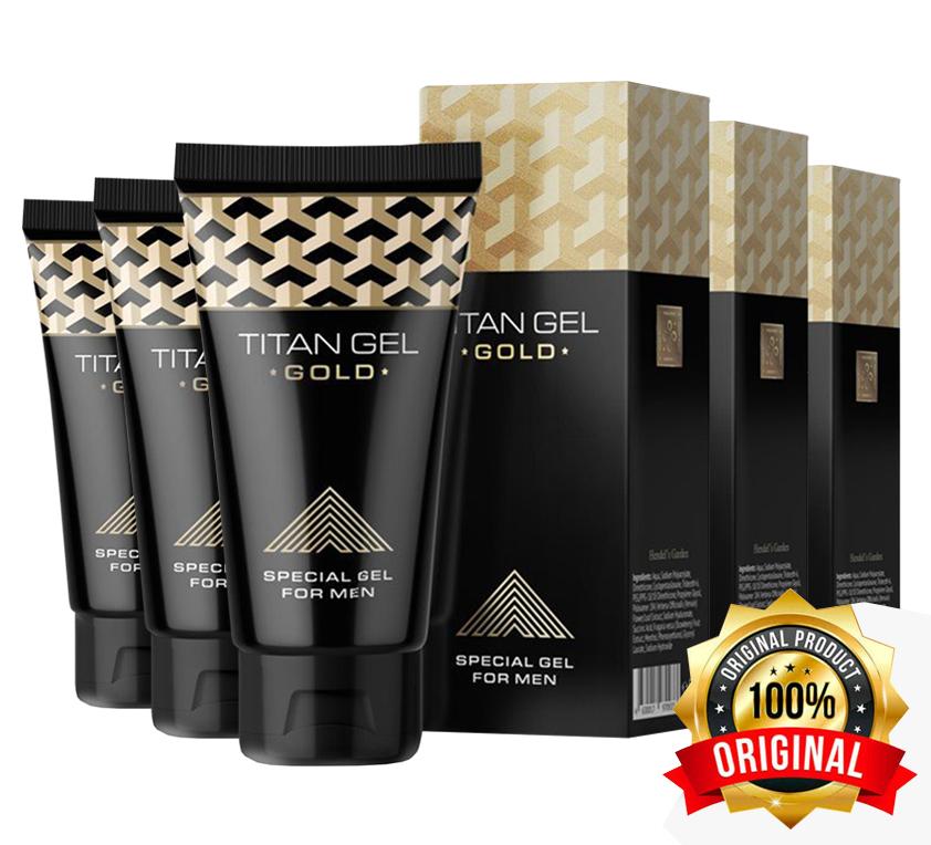 TITAN GEL GOLD — средство для уверенных в себе мужчин