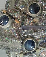 Втирка зеркальная для дизайна ногтей голубая