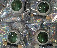 Втирка зеркальная для дизайна ногтей зеленая