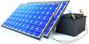 Солнечная электростанция 2.2 кВт/сутки(12В)