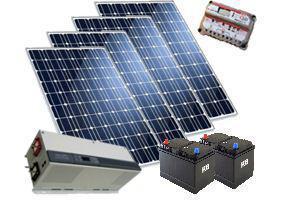 Солнечная электростанция 3 кВт/сутки(12В)