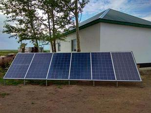 Солнечная электростанция 7.2 кВт/сутки(24В)