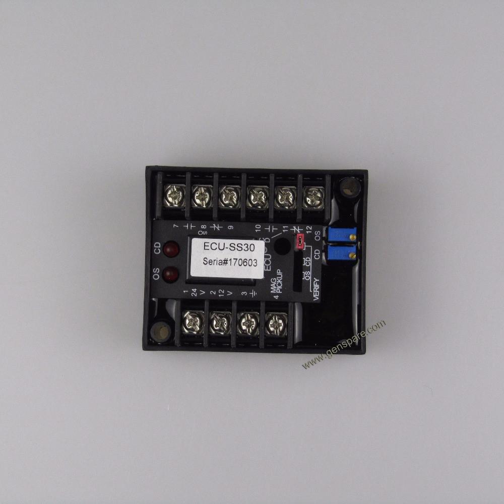 Блок управления регулятором скорости двигателя ECU-SS30