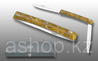 Нож складной Miguel Nieto Amigo-Doble 69-O, Общая длина: 190 мм, Длина клинка: 85 мм, Материал клинка: Сталь A
