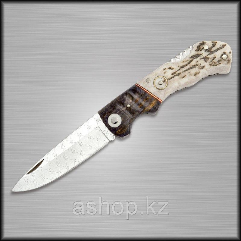 Нож складной охотничий Miguel Nieto Artesanal ART-4, Общая длина: 190 мм, Длина клинка: 85 мм, Материал клинка