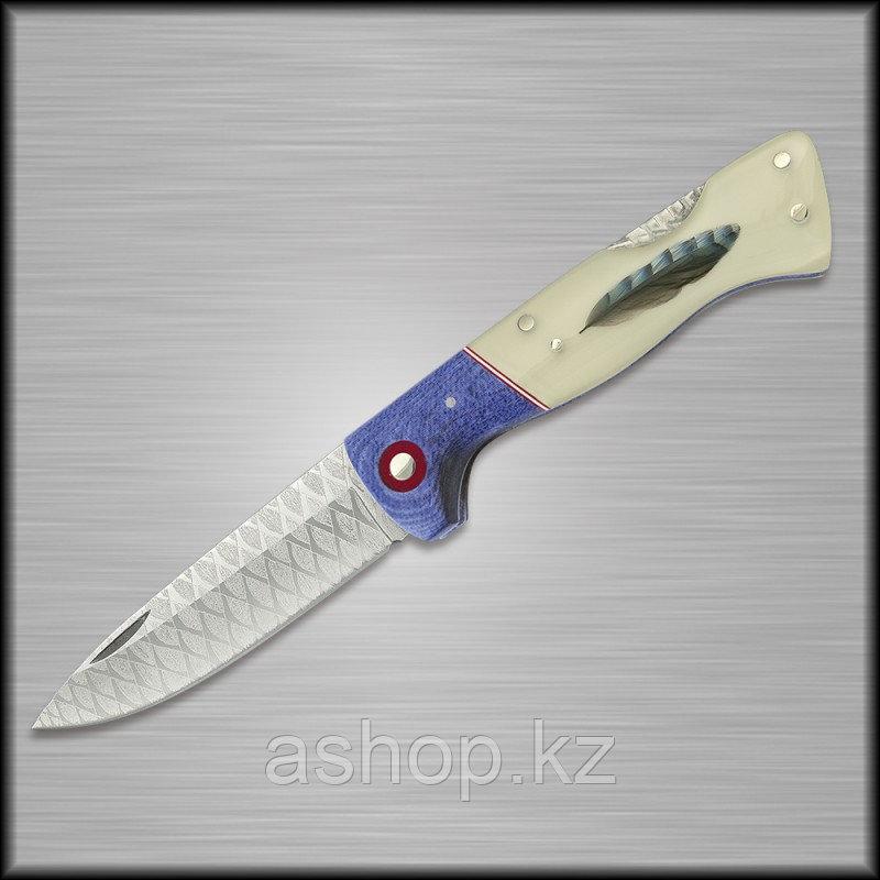 Нож складной охотничий Miguel Nieto Artesanal ART-16, Общая длина: 185 мм, Длина клинка: 80 мм, Материал клинк