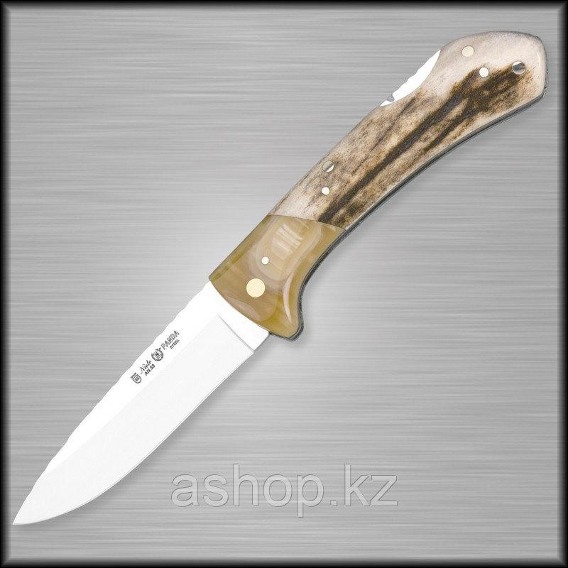 Нож складной охотничий Miguel Nieto Artesanal ART-1, Общая длина: 180 мм, Длина клинка: 80 мм, Материал клинка