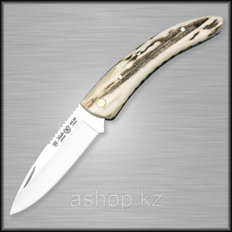 Нож складной охотничий Miguel Nieto Artesanal ART-7, Общая длина: 175 мм, Длина клинка: 70 мм, Материал клинка
