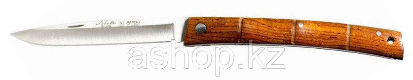 Нож складной Miguel Nieto Amigo 801, Общая длина: 190 мм, Длина клинка: 85 мм, Материал клинка: Сталь AN-58, М
