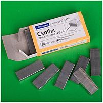 Скобы для степлера №24/6 OfficeSpace, оцинкованные, 1000шт., фото 2