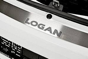 Накладка на задний бампер (НПС) RENAULT Logan 2014-