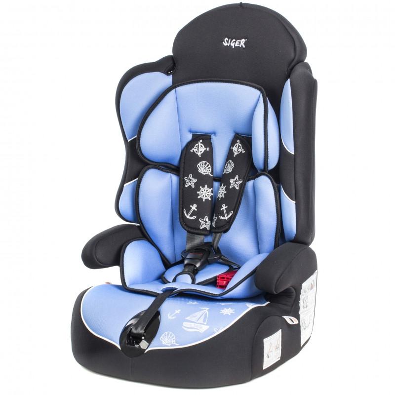 """Детское автомобильное кресло SIGER """"Драйв"""", 1-12 лет, 9-36 кг"""