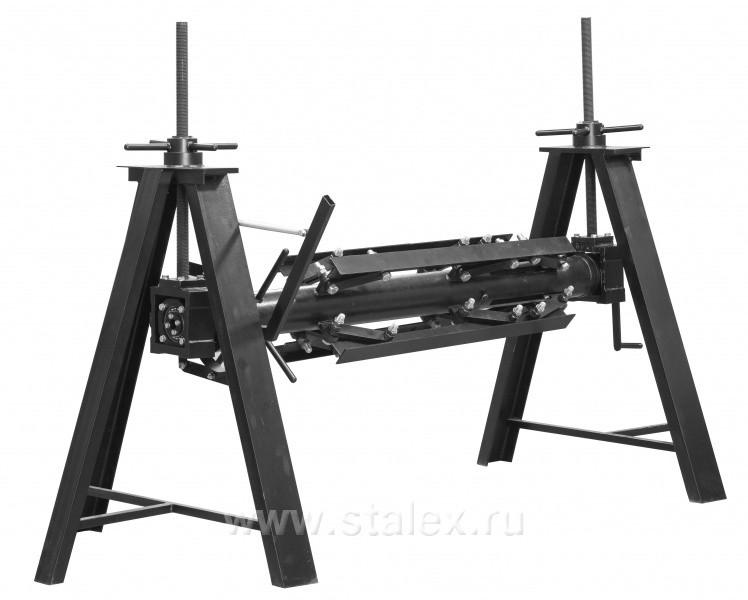 Неприводной самоподъемный самоцентрирующийся разматыватель STALEX SUS-1250
