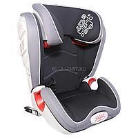"""Детское автомобильное кресло SIGER """"Олимп FIX"""" черный, 3-12 лет, 15-36 кг, группа 2/3"""