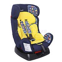 """Детское автомобильное кресло SIGER ART """"Диона"""" котики, 0-7 лет, 0-25 кг, группа 0+/1/2"""