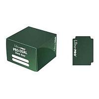 Коробочка для карт Deck box на 180шт, Ultra Pro, Pro-Dual Зеленая