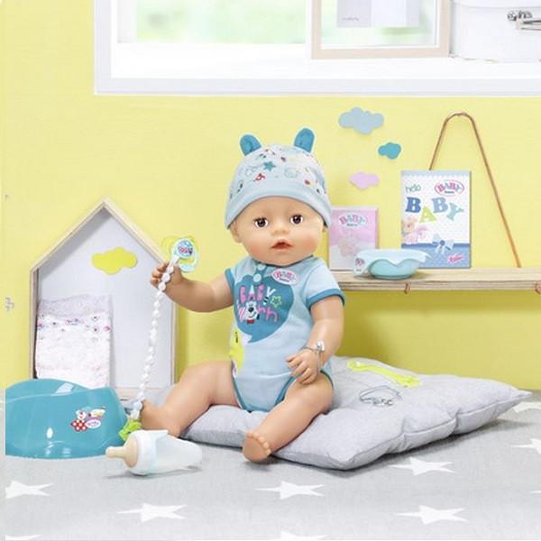Baby born Интерактивная кукла-мальчик Бэби борн, 43 см