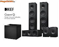 Комплект для домашнего кинотеатра 5.1 на акустике KEF серии Q, фото 1