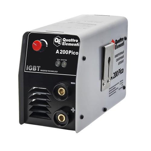 Аппарат электродной сварки, инвертор QUATTRO ELEMENTI  A 200 Pico