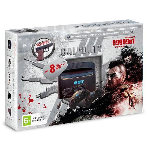Игровая приставка Dendy Call of Duty Ghost 99999игр+пистолет