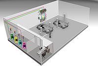 Автоматизированная стационарная система раздачи и учета масла ATIS HPMCO-48
