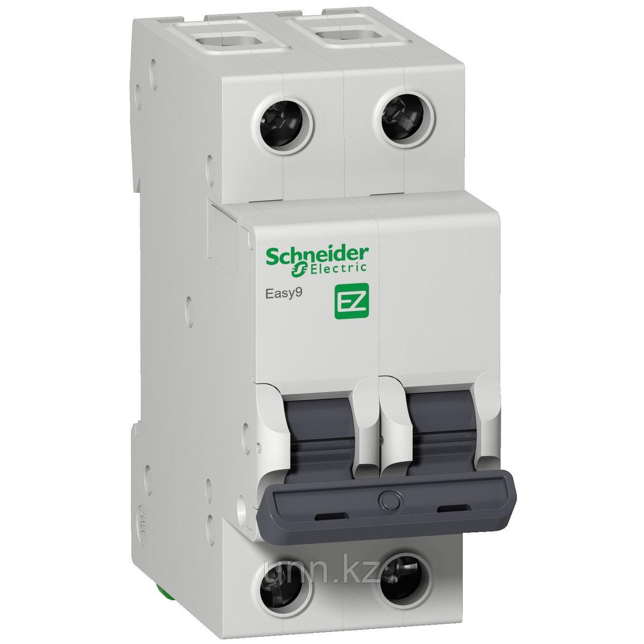 Автоматический выключатель EASY 9 2П 6А С 4,5кА 230В =S=