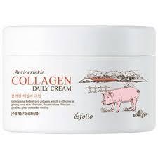 Esfolio Anti-Wrinkle Collagen Daily Cream Антивозрастной Коллагеновый Крем 200мл.