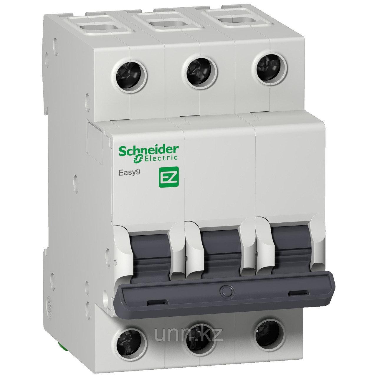 Автоматический выключатель EASY 9 3П 63А С 4,5кА 400В =S=