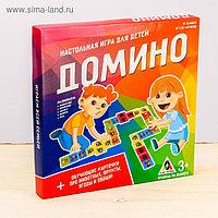 Домино настольная игра «Животные»